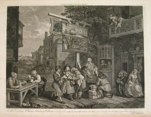 Hogarth, Canvassing for Votes