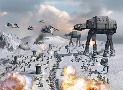 hoth-battle-print